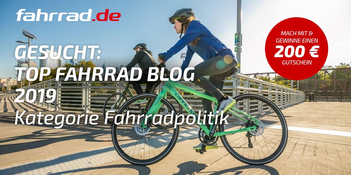 In eigener Sache: Fahrradpendler aus Leidenschaft – Fahrradblogwahl 2019